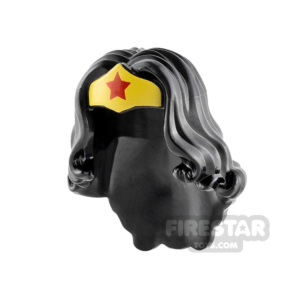 LEGO Hair Wonder Woman Tiara