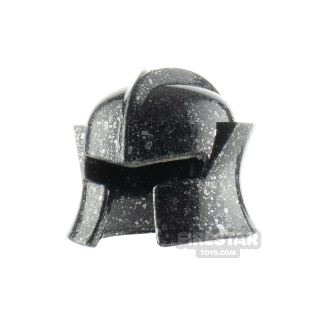 LEGO Castle Helmet Cheek protection - Silver Copper