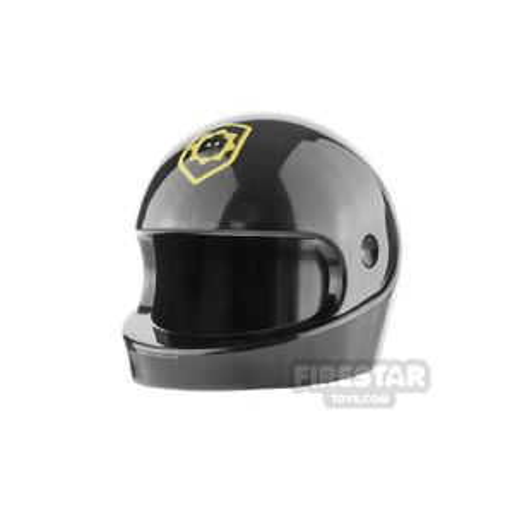 LEGO Printed Biker Helmet Robot SWAT
