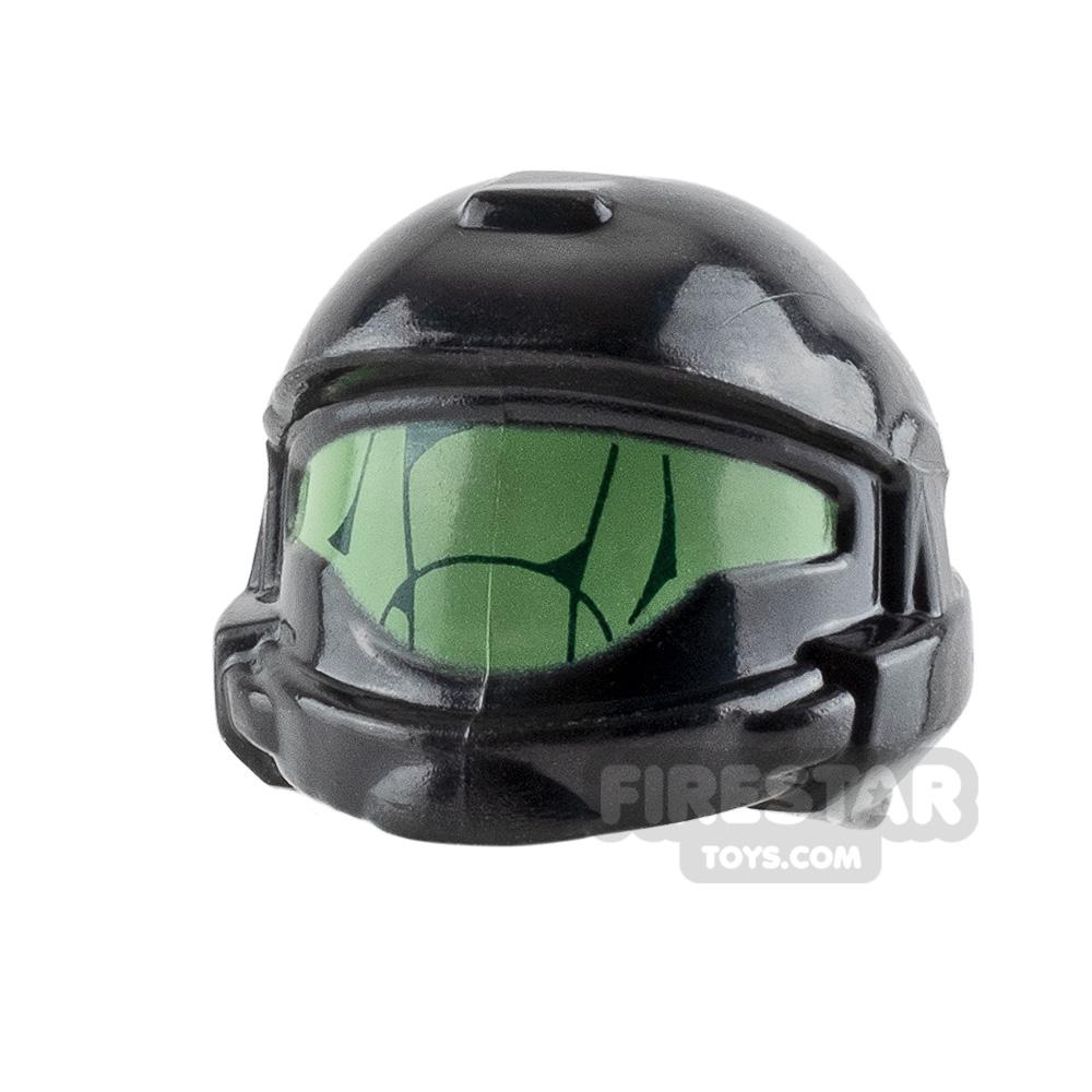 BrickForge Shock Trooper Helmet Visor Detail