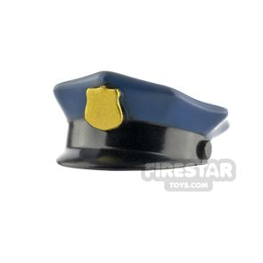 LEGO Police Hat with Badge