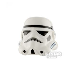 LEGO Stormtrooper Helmet Dotted Mouth
