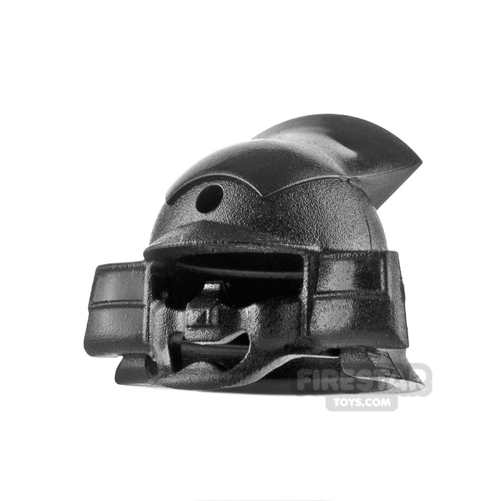 SI-DAN - Samurai Kabuto Helmet - Black