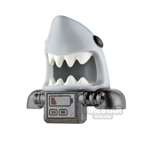 LEGO Shark Scuba Head Cover with Battery Pack