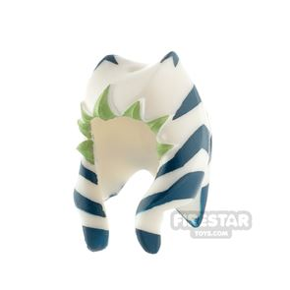 LEGO Ahsoka Headdress Blue Pattern