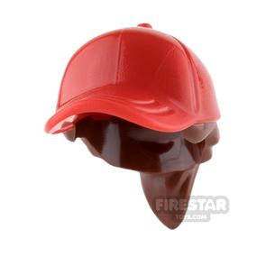 LEGO Red Cap with Ponytail