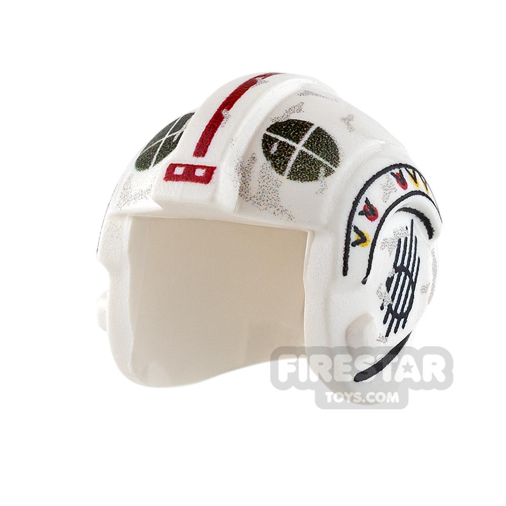 Custom Design Headgear SW Rebel Pilot Helmet Davish Krail