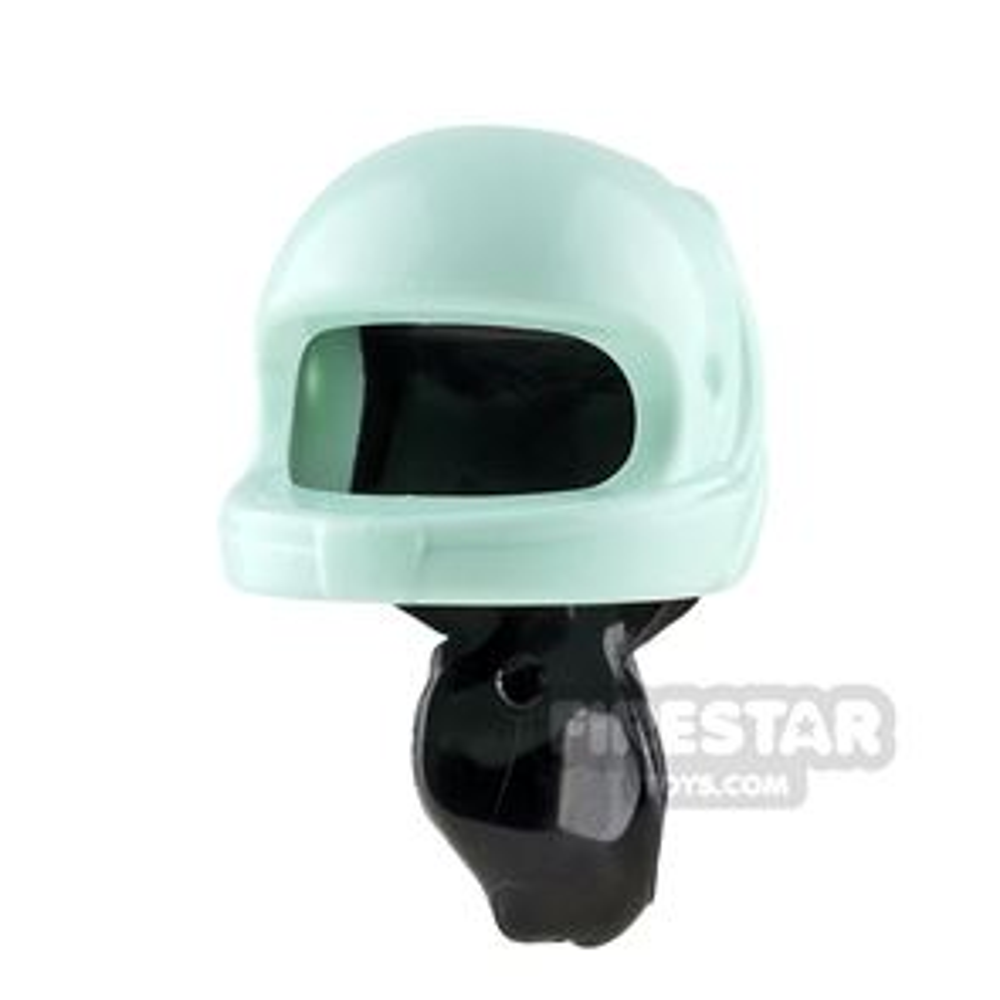 LEGO Racing Helmet with Ponytail