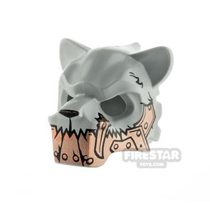 LEGO Saber-Tooth Tiger Headcover Copper Armour