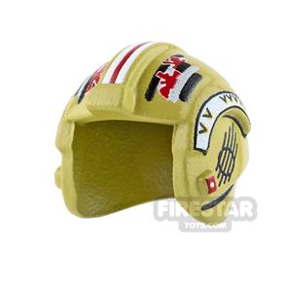 Custom Design Headgear SW Rebel Pilot Helmet Garven Dreis