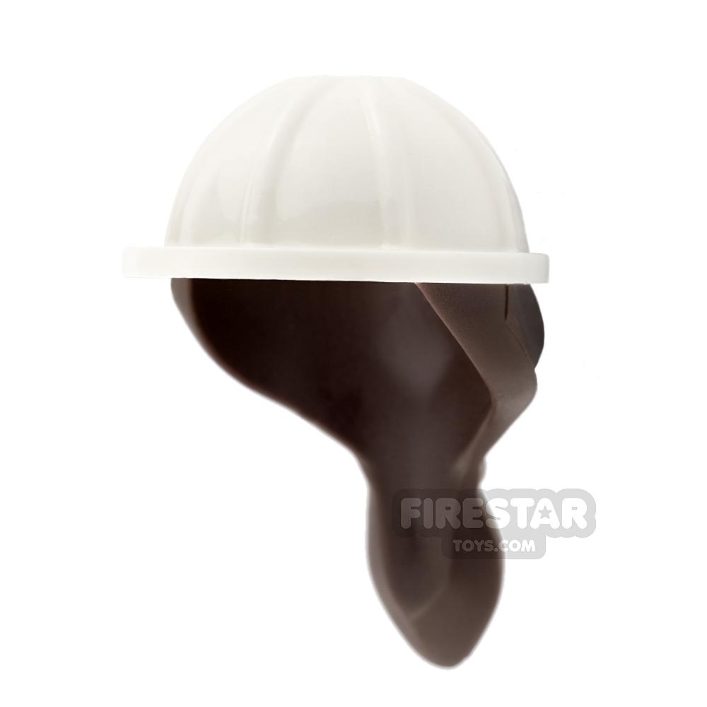 LEGO Construction  Helmet with Ponytail