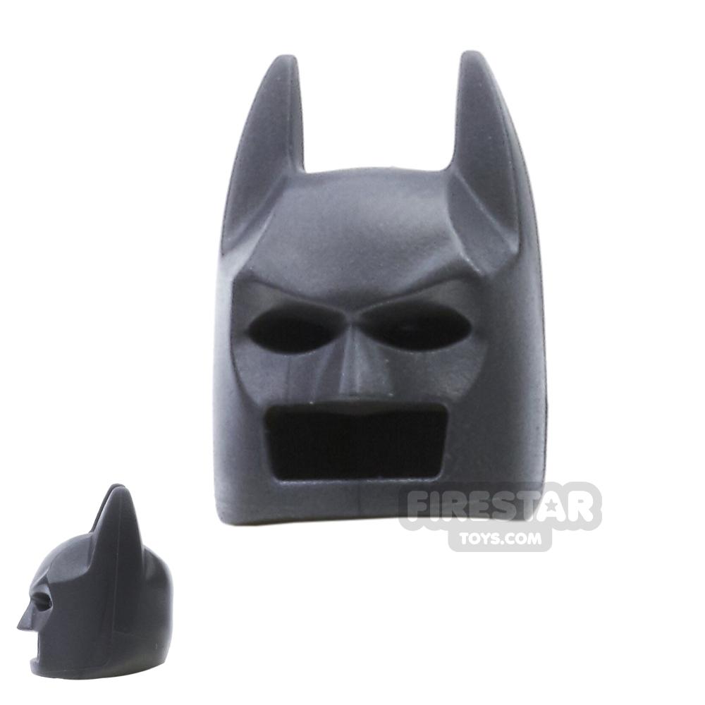 LEGO - Batman Mask - Angular Ears - Pearl Dark Gray
