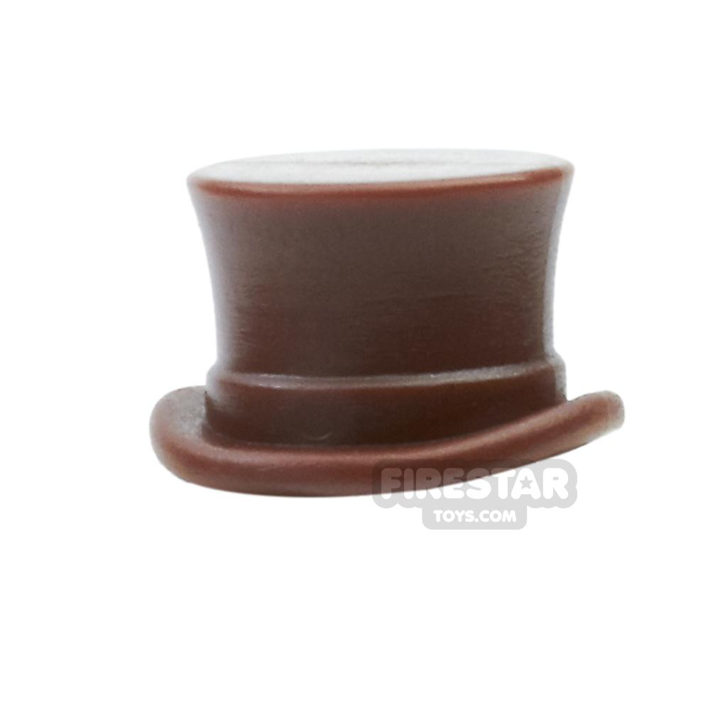 BrickWarriors - Top Hat - Brown