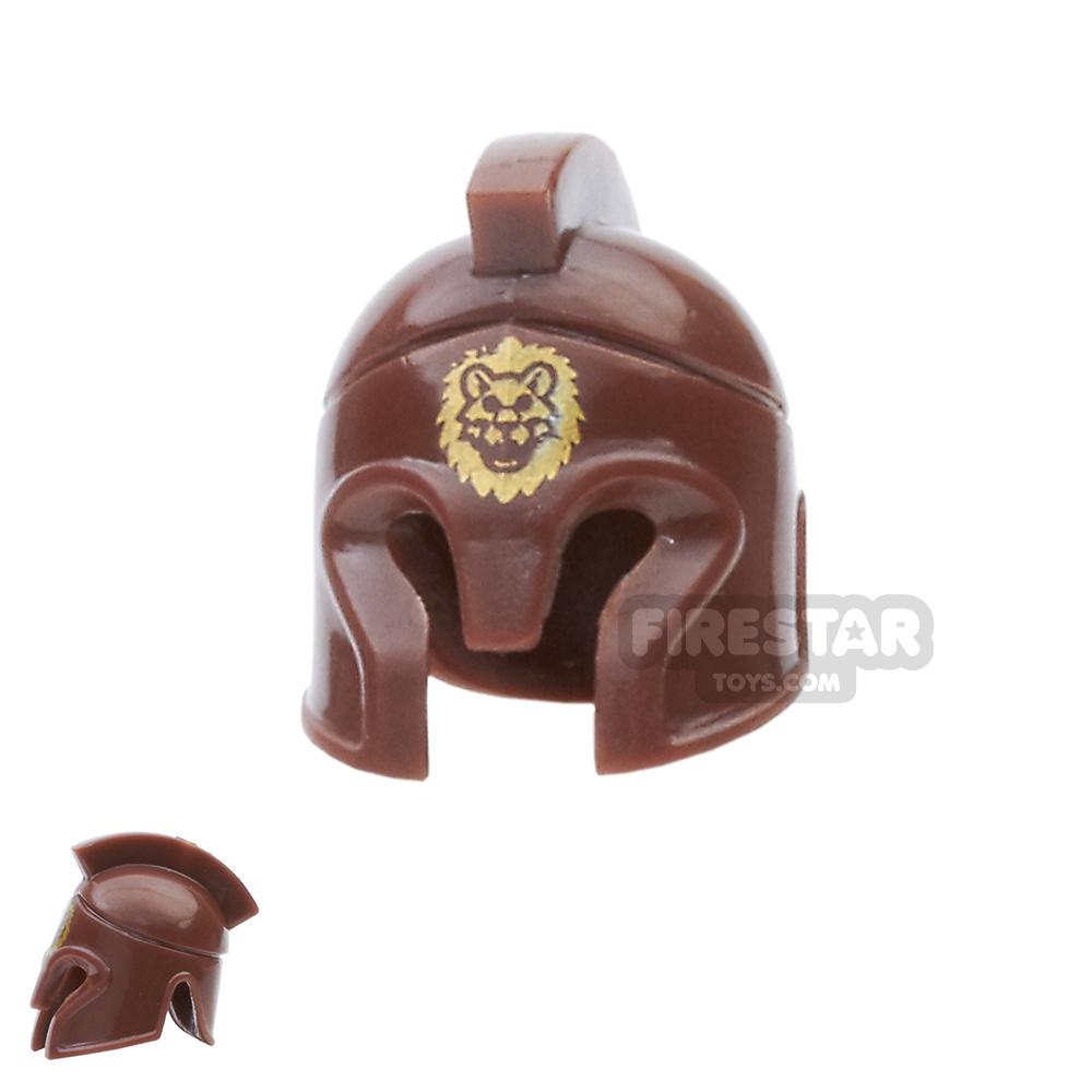 BrickForge - Hoplite Helmet - Reddish Brown