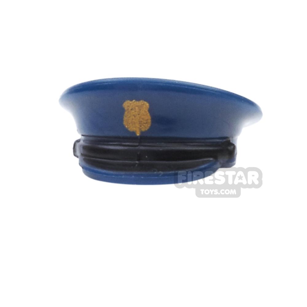 BrickForge - Officer Hat - Gold Badge