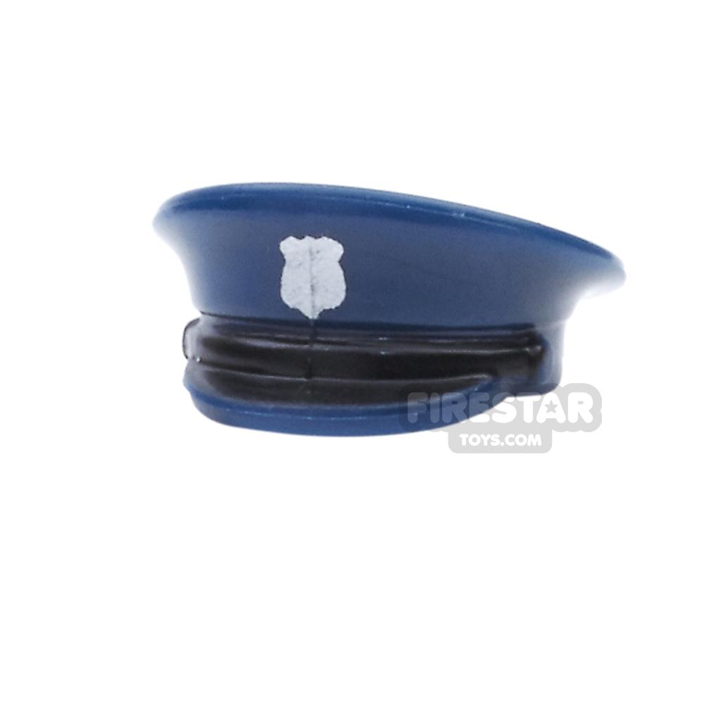 BrickForge - Officer Hat - Silver Badge