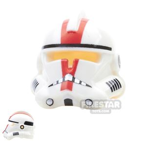 Arealight - DVS Commander Helmet - White Dotted Mouth