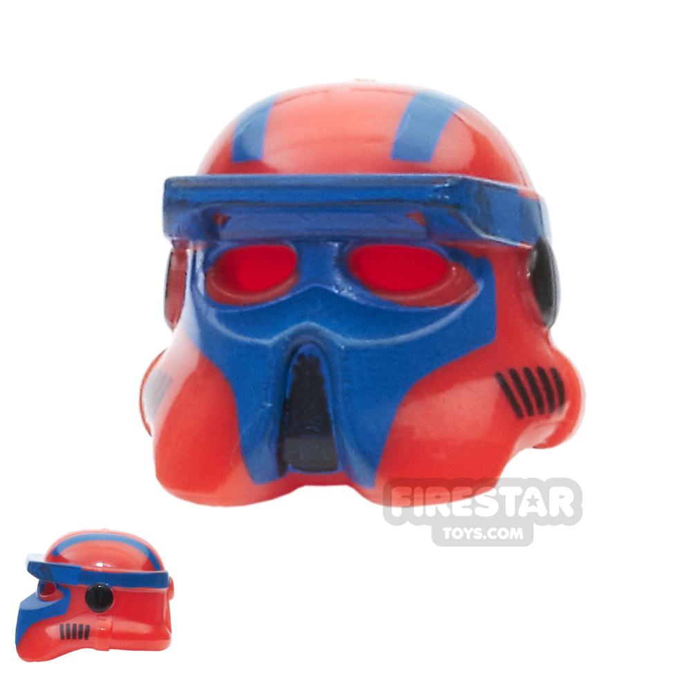 Arealight - AL Gunner Driver Helmet - Red