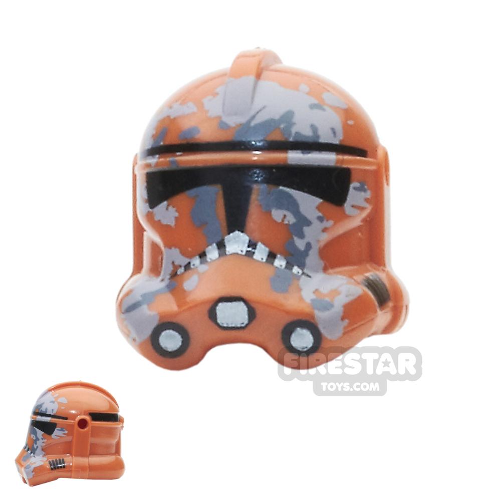 Arealight - Camo Trooper Helmet - Dark Orange