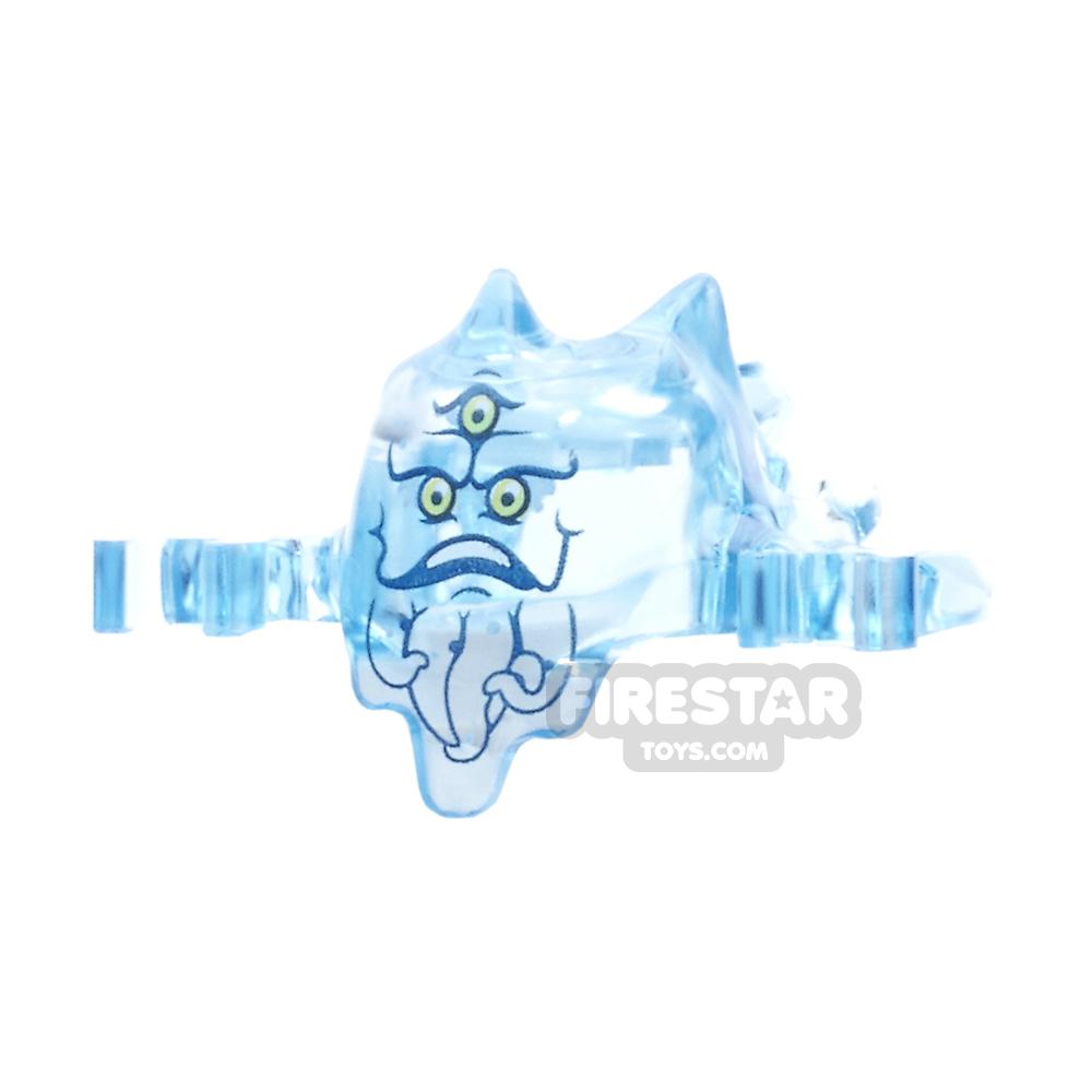 LEGO - Ghostbusters Ghost Mask - Trans Medium Blue