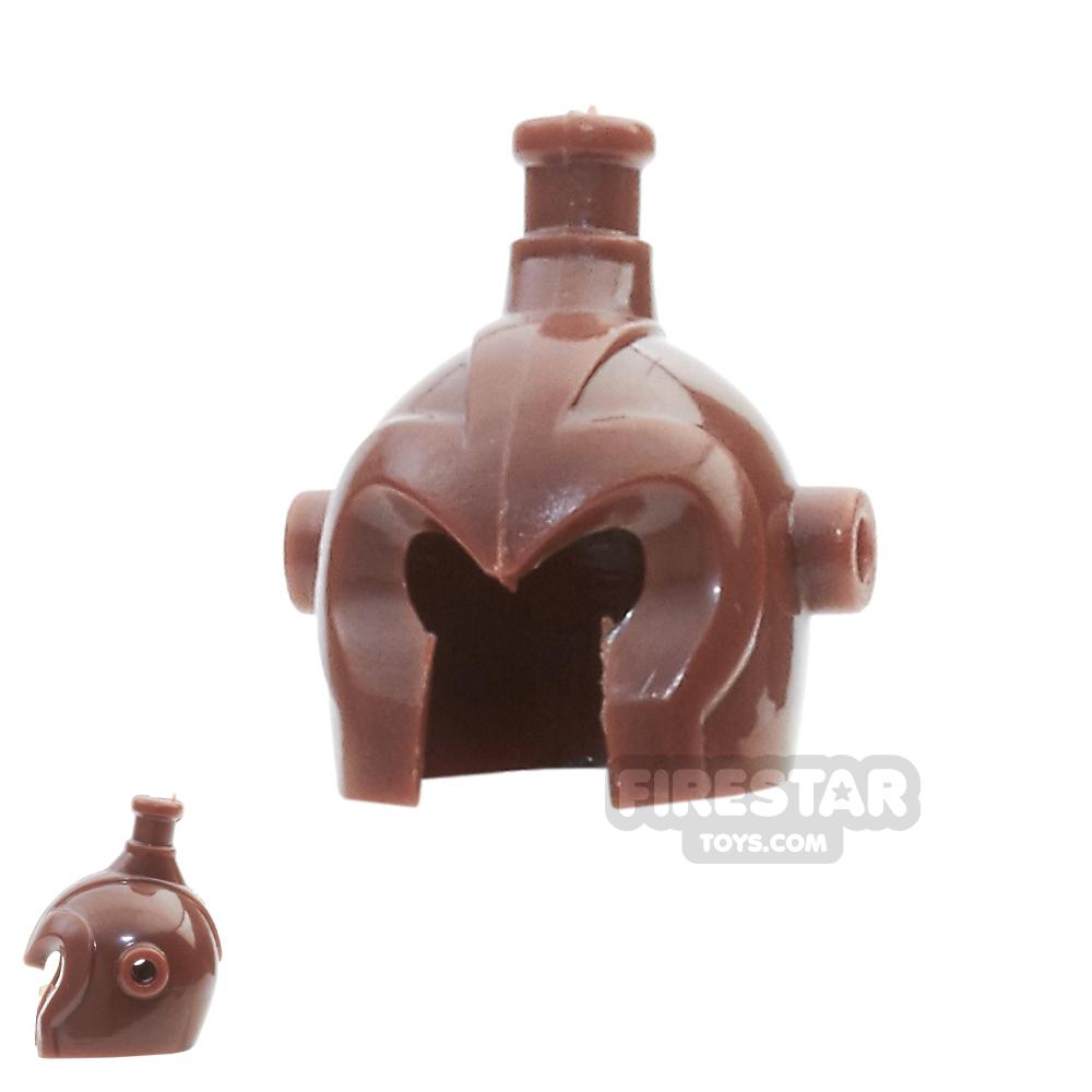BrickForge - Elven Helmet - Reddish Brown