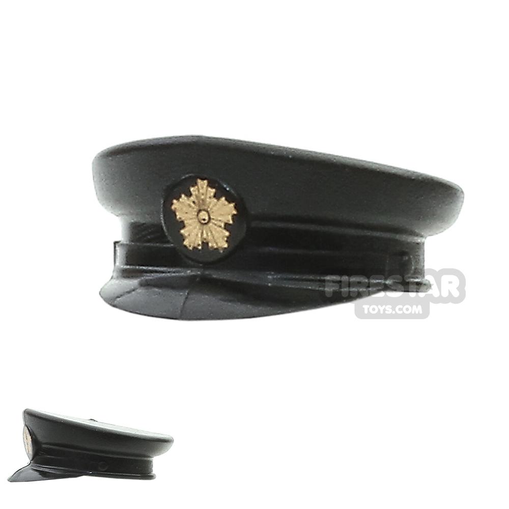 SI-DAN - Police Hat - Black With Badge