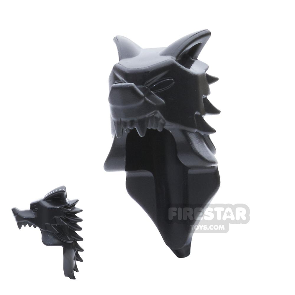BrickWarriors Wolf Pelt Helm