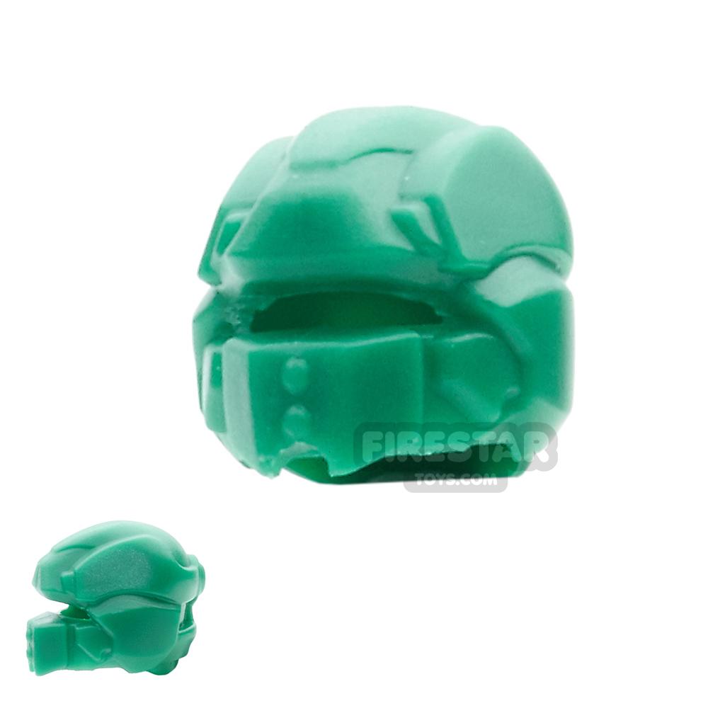 BrickWarriors - Galaxy Enforcer Helmet - Green