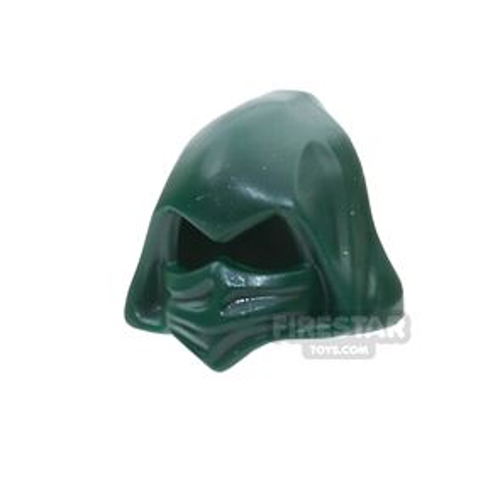 LEGO - Hood Cowl - Dark Green