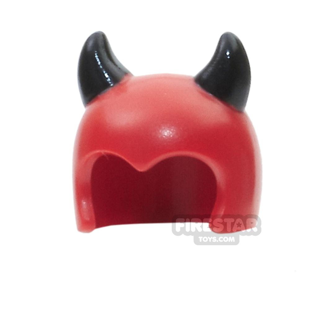 LEGO - Imp Mask With Black Devil Horns
