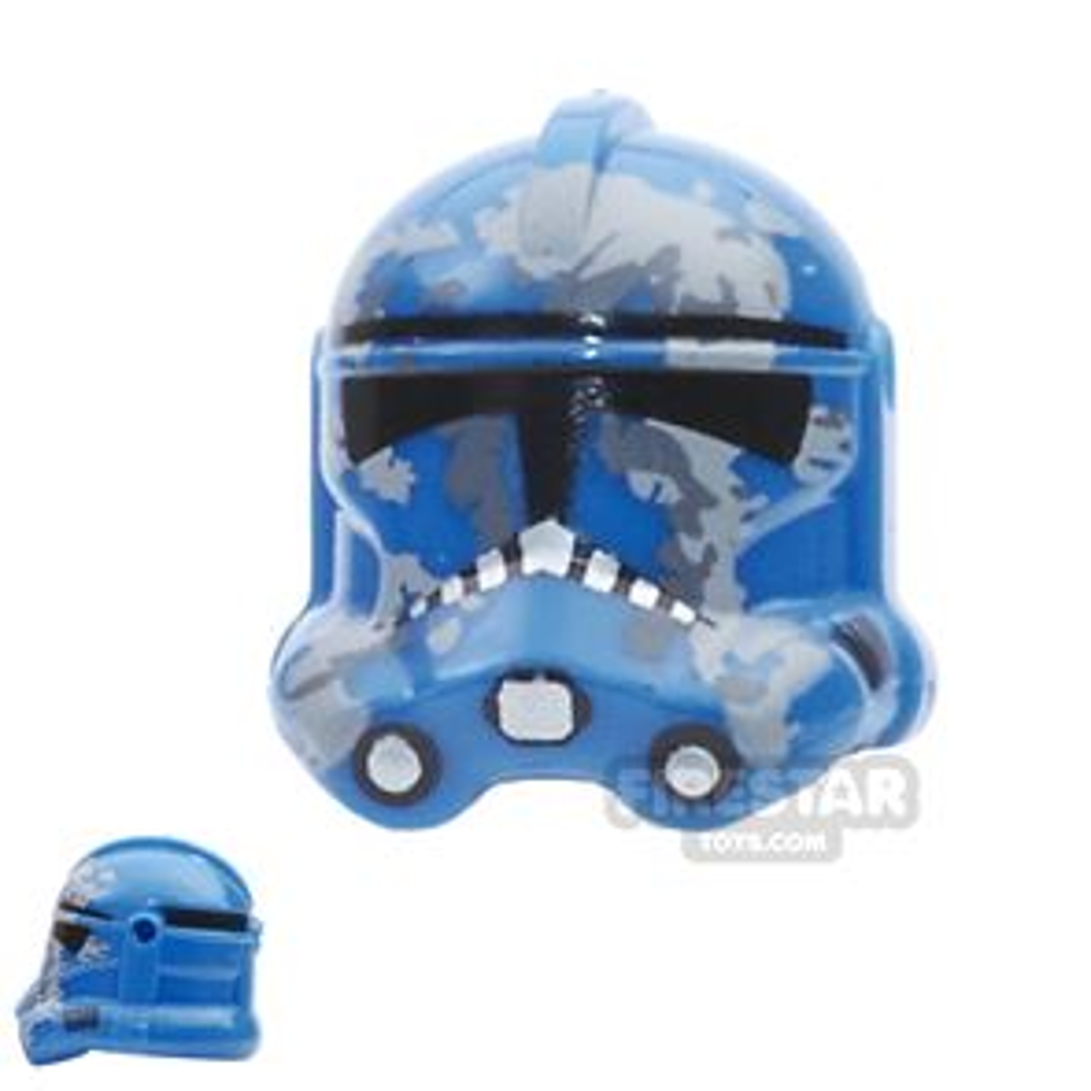Arealight - Camo Trooper Helmet - Blue