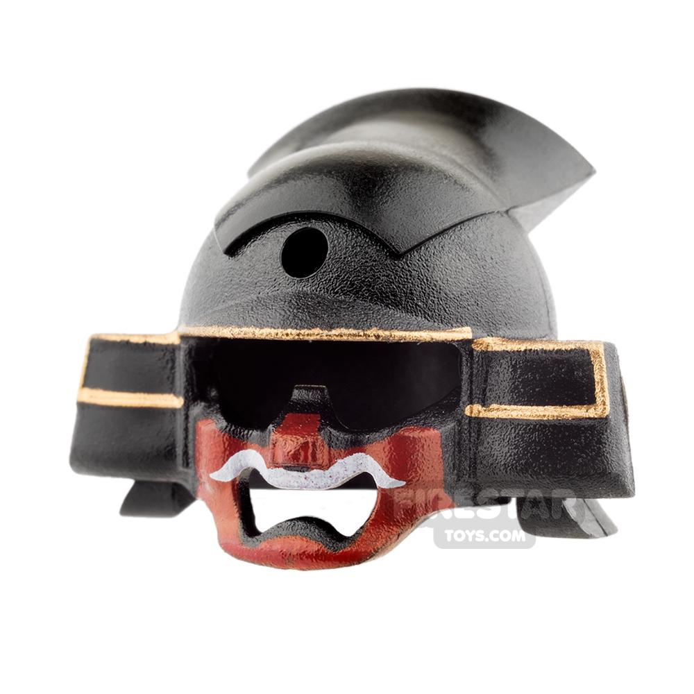 SI-DAN - Samurai Kabuto Helmet - Black and Red