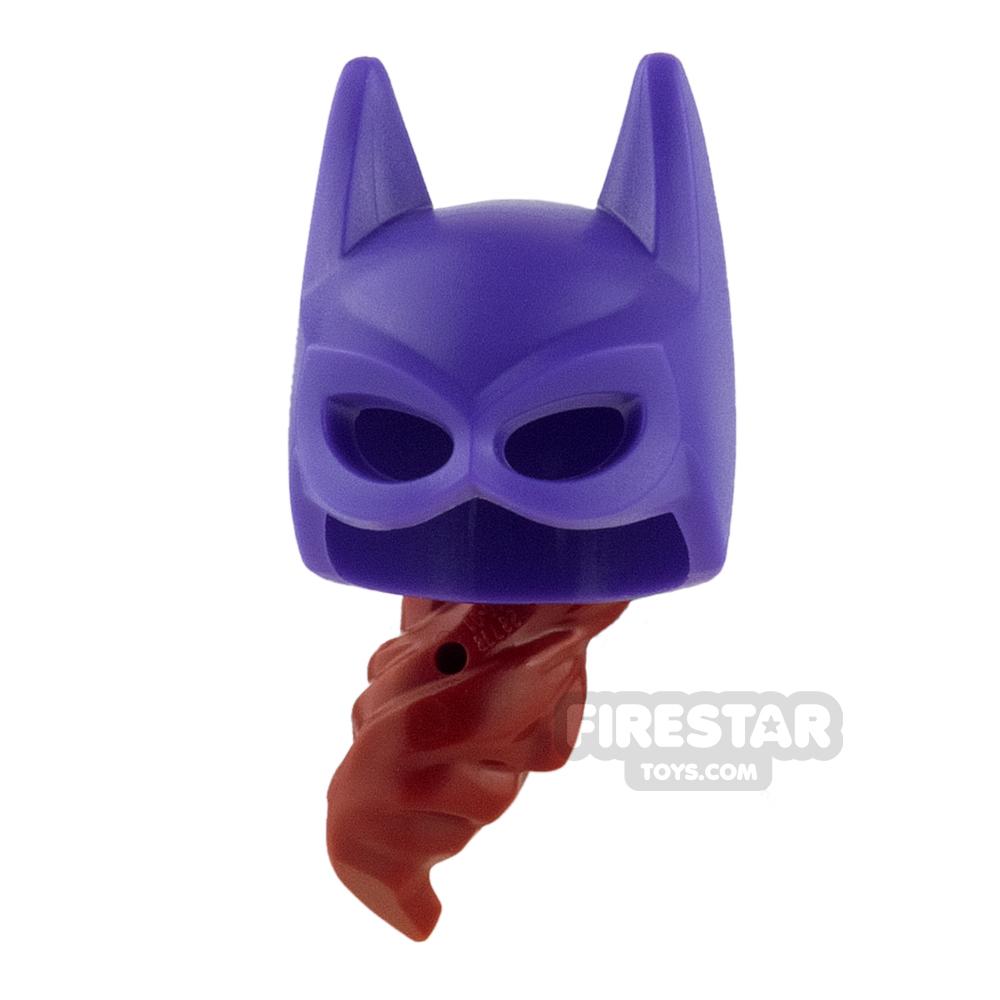 LEGO Batgirl Mask with Hair
