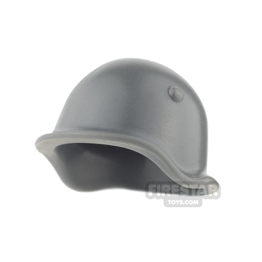 BrickWarriors - Soviet Helmet - Dark Gray