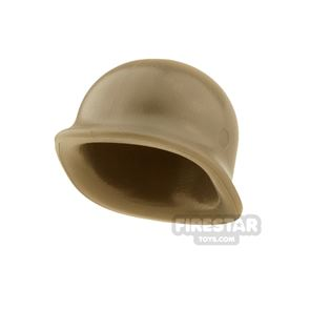 BrickWarriors - US M1 Helmet - Dark Tan