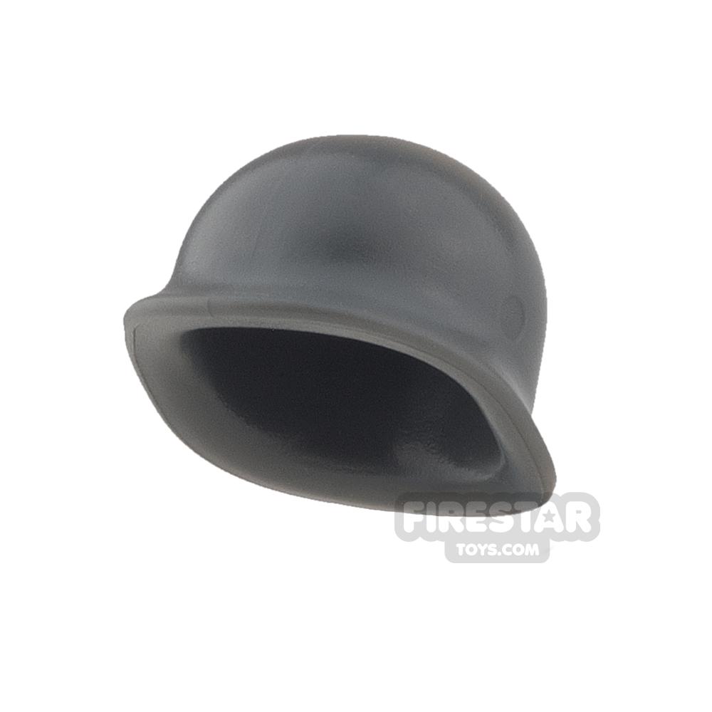 BrickWarriors - US M1 Helmet - Dark Gray