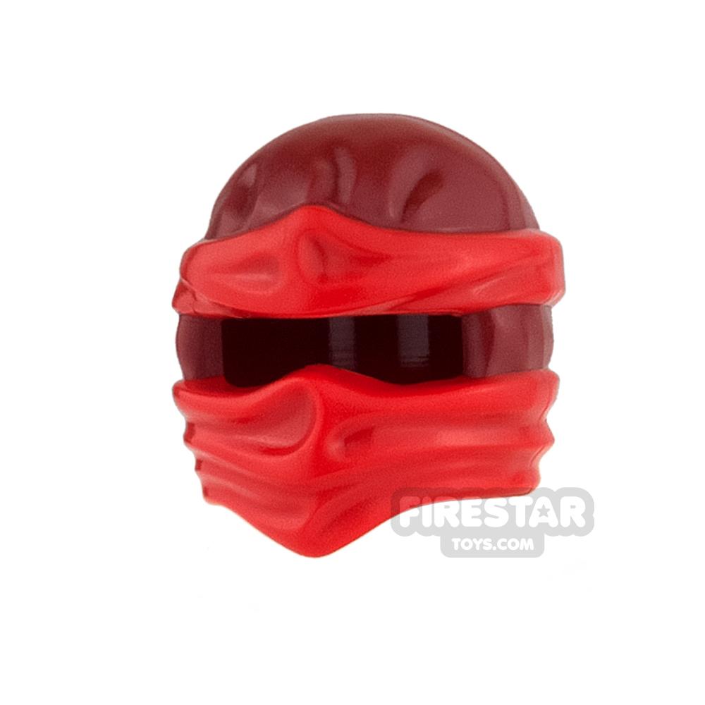 LEGO - Ninjago Wrap Dark Red with Red Wraps