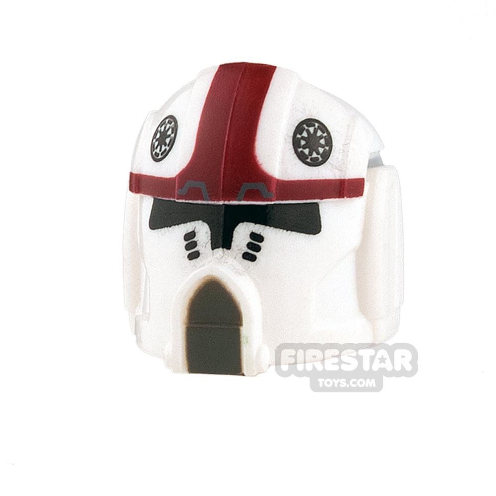 Clone Army Customs - Pilot Helmet - Dark Red