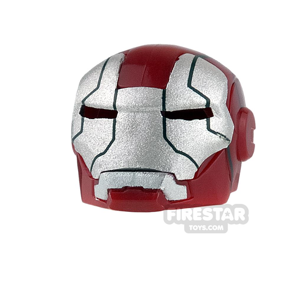 Clone Army Customs - MK Helmet - Dark Red and Silver