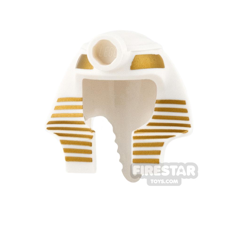 LEGO - Mummy Headdress - White and Gold