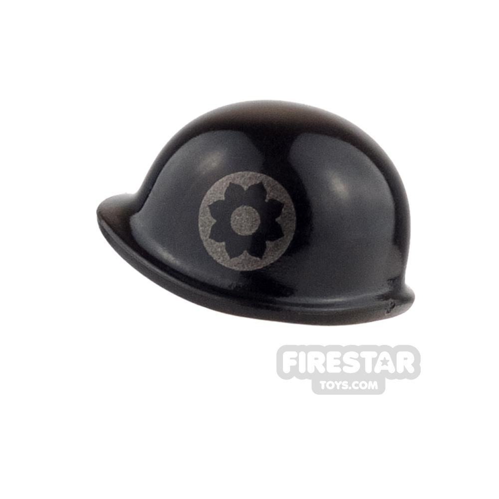 BrickForge - M1 Helmet - Black - 9th Infantry