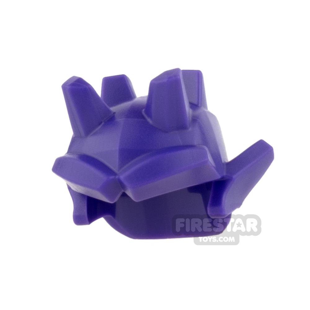 LEGO - Helmet with Spikes and Ears - Dark Purple