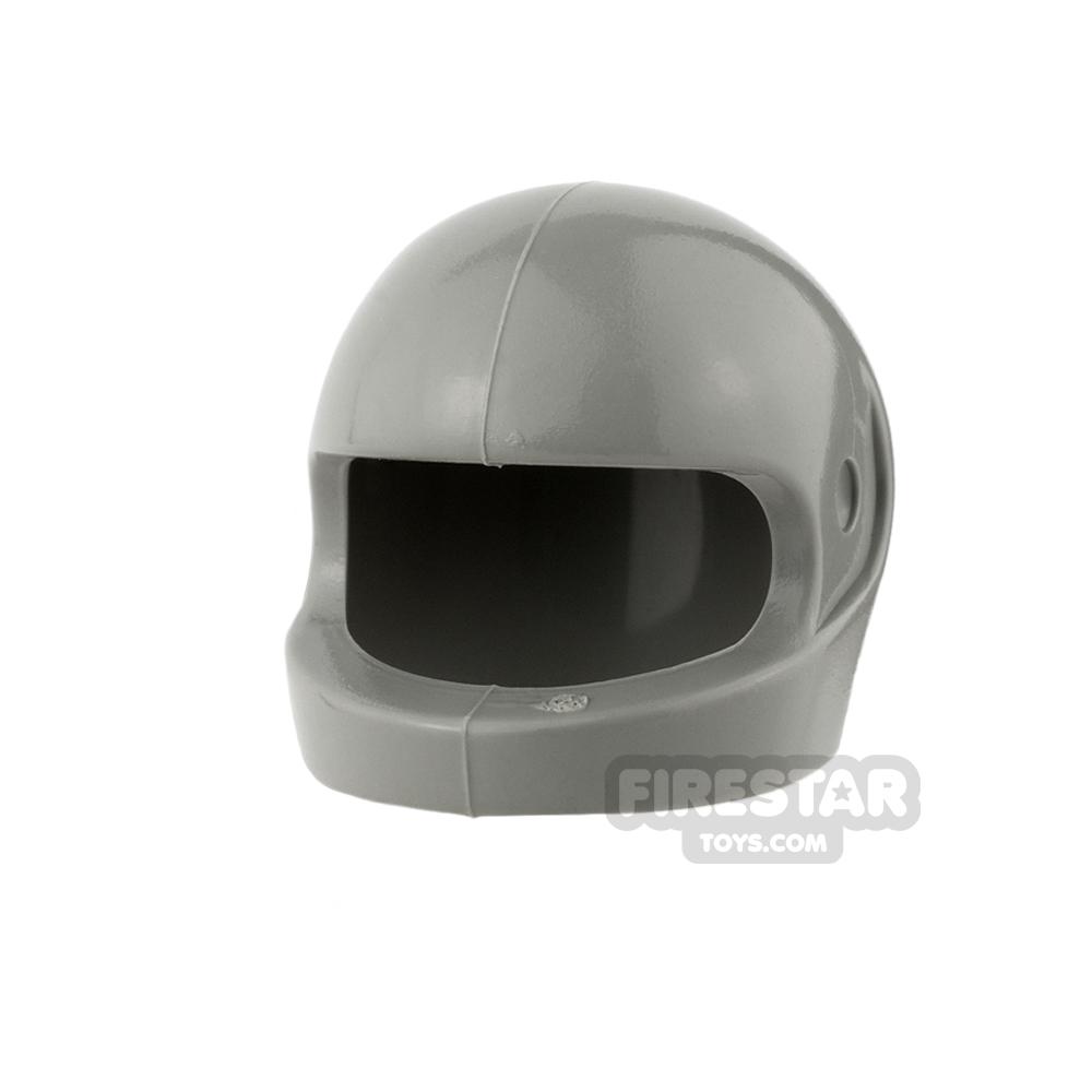 LEGO - Biker Helmet - Light Gray