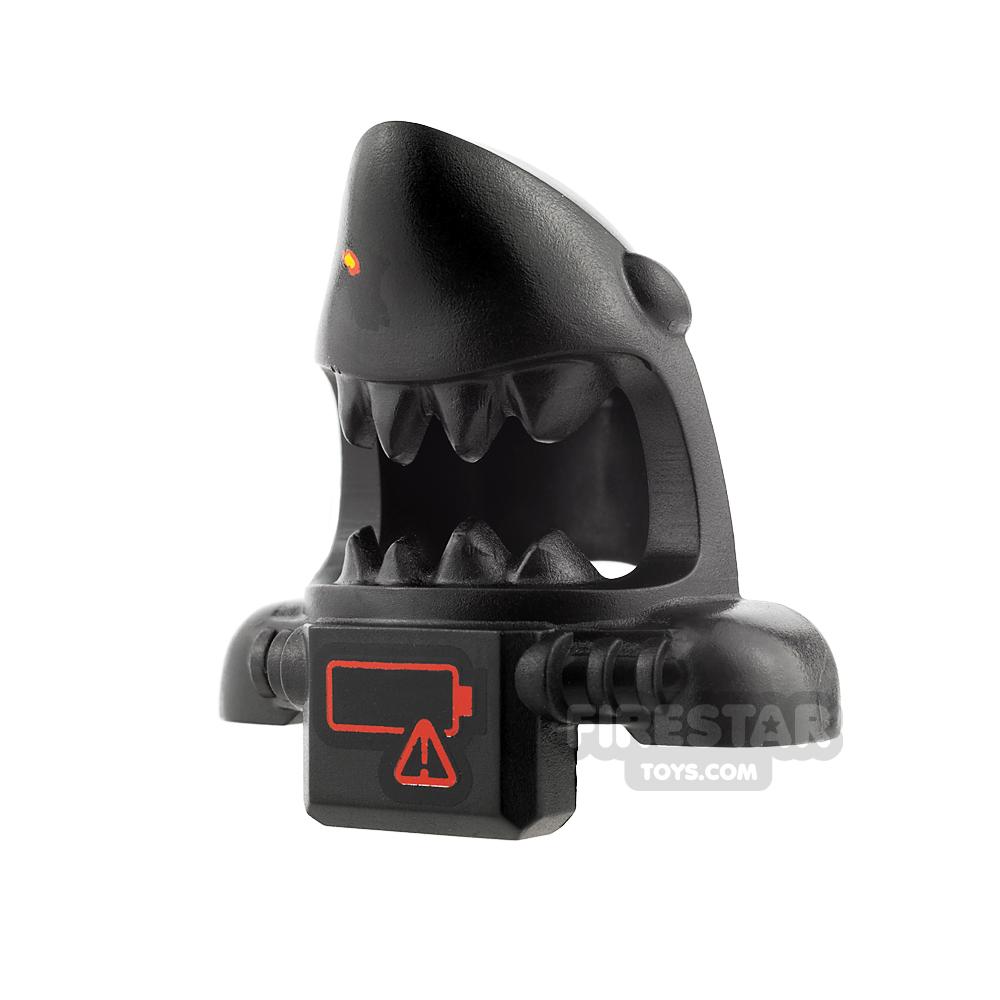 LEGO - Shark Scuba Head Cover with Battery Pack - Black
