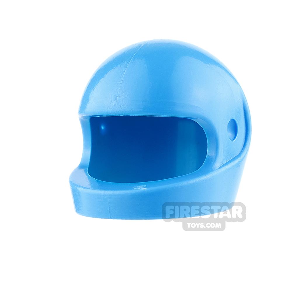 LEGO - Biker Helmet - Medium Blue
