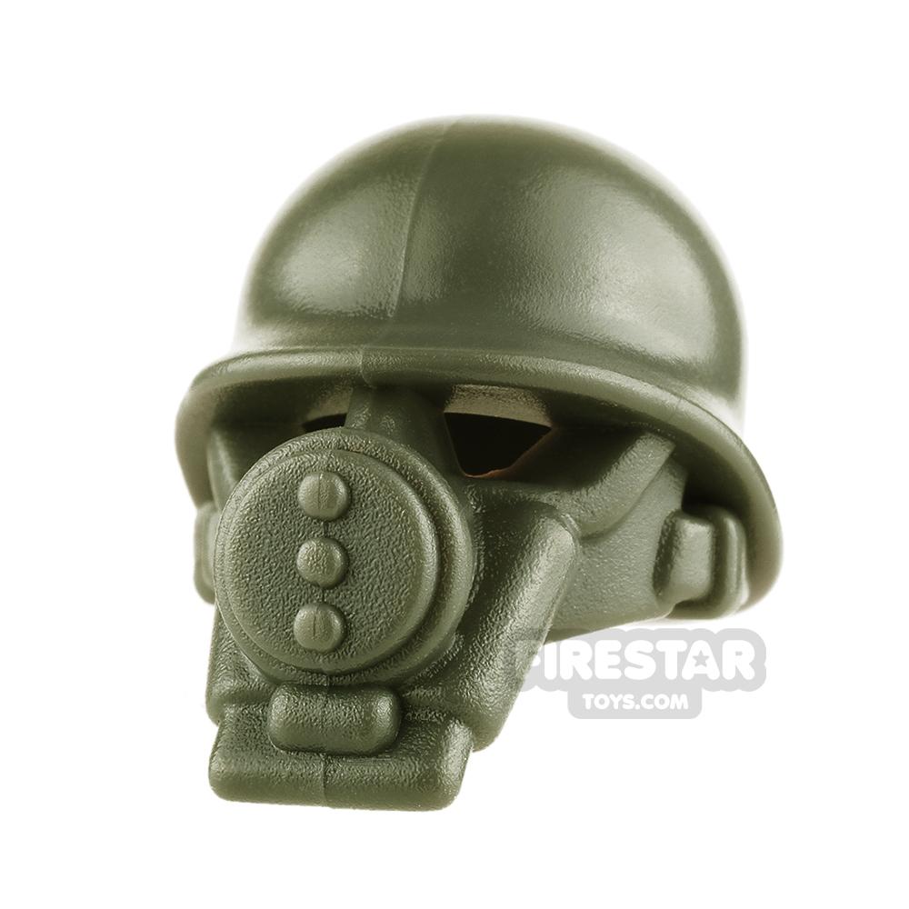 BrickWarriors - US Gas Mask - Army Green