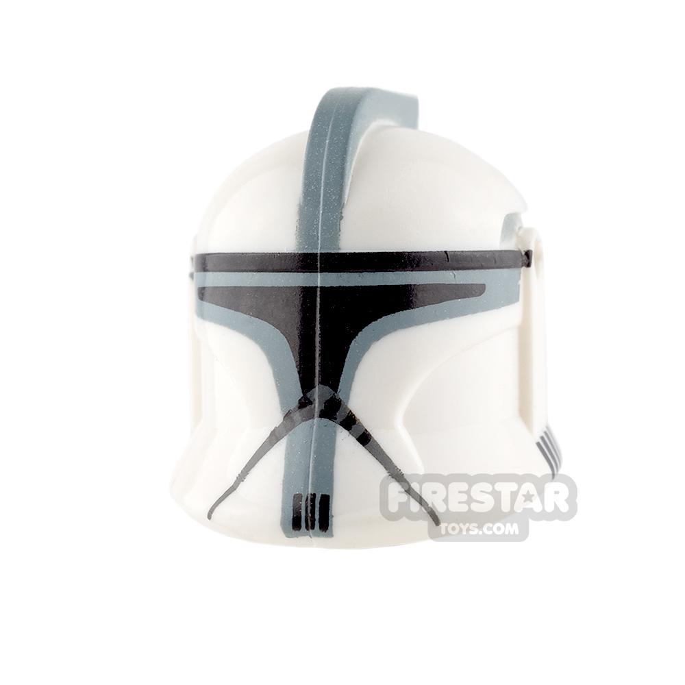 Clone Army Customs - P1 Helmet - Gray and Sand Blue