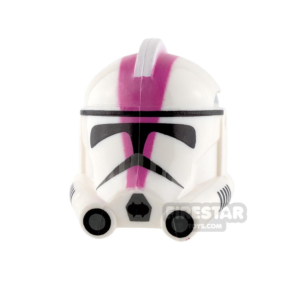Clone Army Customs - P2 Helmet - 501st Dark Pink
