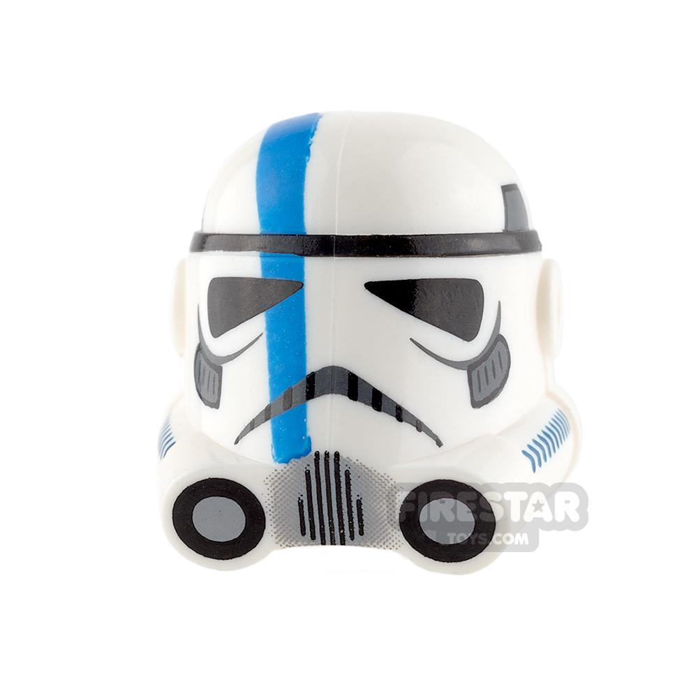 Clone Army Customs - P3 Helmet - Blue Lieutenant