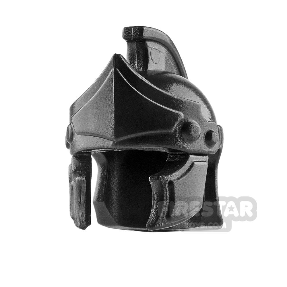 BrickWarriors - Greco Roman Helmet - Black